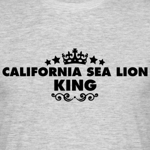 california sea lion king 2015 - Men's T-Shirt