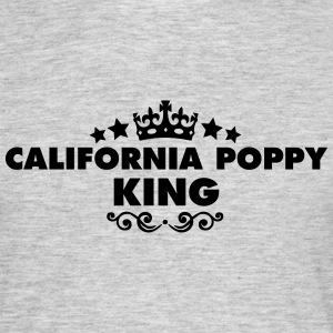 california poppy king 2015 - Men's T-Shirt