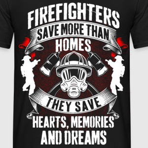Firefighters - save Homes - Männer T-Shirt