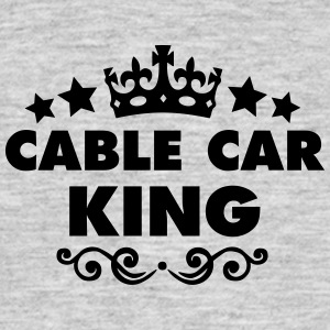 cable car king 2015 - Men's T-Shirt