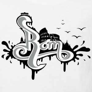 Rom Graffiti - Kinder Bio-T-Shirt