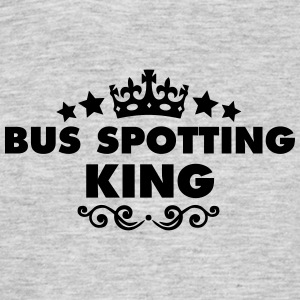 bus spotting king 2015 - Men's T-Shirt