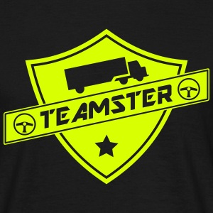 shield teamster Tee shirts - T-shirt Homme