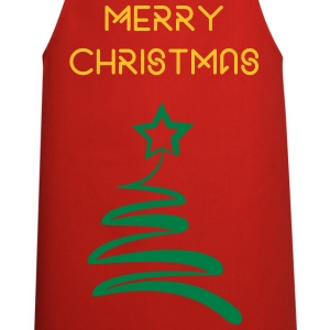 Christmas Tree Apron - Cooking Apron