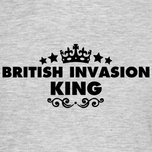 british invasion king 2015 - Men's T-Shirt