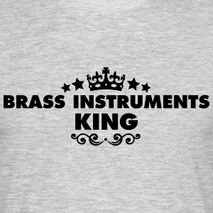 brass instruments king 2015 - Men's T-Shirt