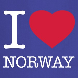 I LOVE NORWAY - Keukenschort