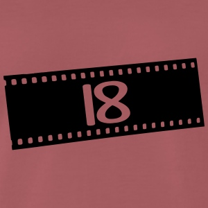 Negativfilm-18 years T-Shirts - Men's Premium T-Shirt