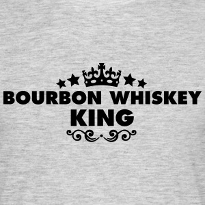 bourbon whiskey king 2015 - Men's T-Shirt
