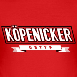 köpenicker-urtyp-c2 T-Shirts - Männer Slim Fit T-Shirt