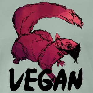 Vegan squirrel - Men's Premium T-Shirt
