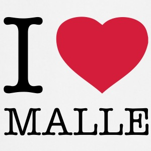 I LOVE MALLE - Tablier de cuisine