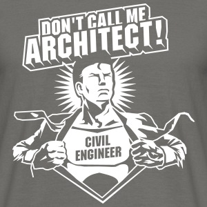 Civil Engineer - the original T-shirts - Herre-T-shirt