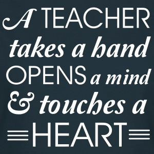 Teacher takes a hand opens a mind T-Shirts - Women's T-Shirt