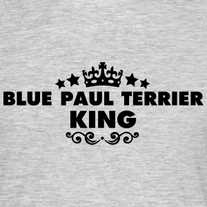 blue paul terrier king 2015 - Men's T-Shirt