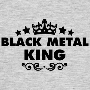 black metal king 2015 - Men's T-Shirt