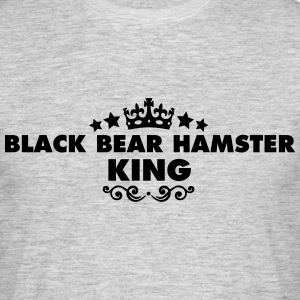 black bear hamster king 2015 - Men's T-Shirt