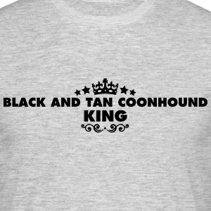 black and tan coonhound king 2015 - Men's T-Shirt