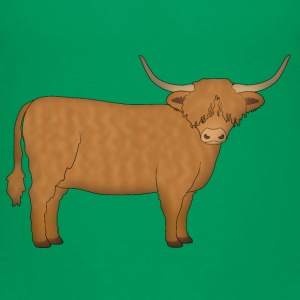 Highland cattle looking Shirts - Kids' Premium T-Shirt