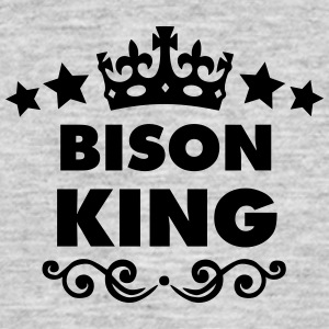 bison king 2015 - Men's T-Shirt
