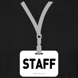 Badge STAFF - T-shirt Homme