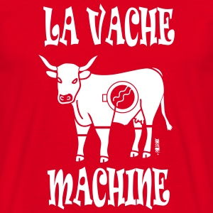 LA VACHE MACHINE - T-shirt Homme