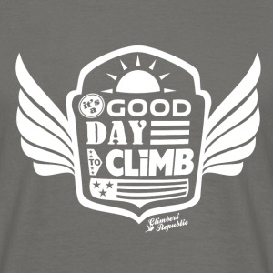 Good day to climb Tee shirts - T-shirt Homme