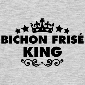 bichon fris king 2015 - Men's T-Shirt