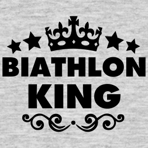 biathlon king 2015 - Men's T-Shirt