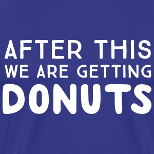 After this we are getting donuts T-Shirts - Men's Premium T-Shirt