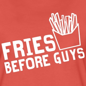 Fries before guys T-Shirts - Women's Premium T-Shirt