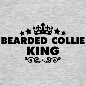 bearded collie king 2015 - Men's T-Shirt