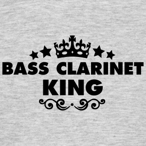 bass clarinet king 2015 - Men's T-Shirt