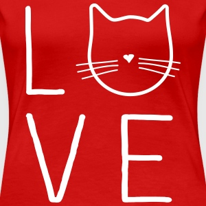 Cat Love T-Shirts - Women's Premium T-Shirt
