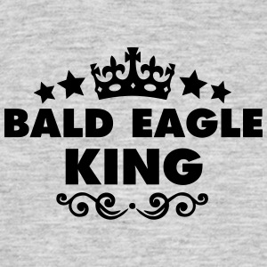 bald eagle king 2015 - Men's T-Shirt