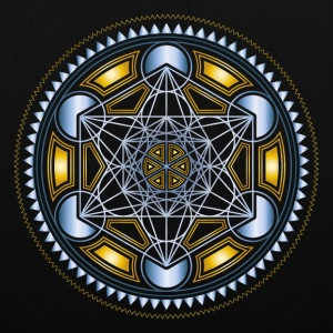 METATRONS CUBE, FLOWER OF LIFE, SPIRITUALITY Bags & Backpacks - Tote Bag