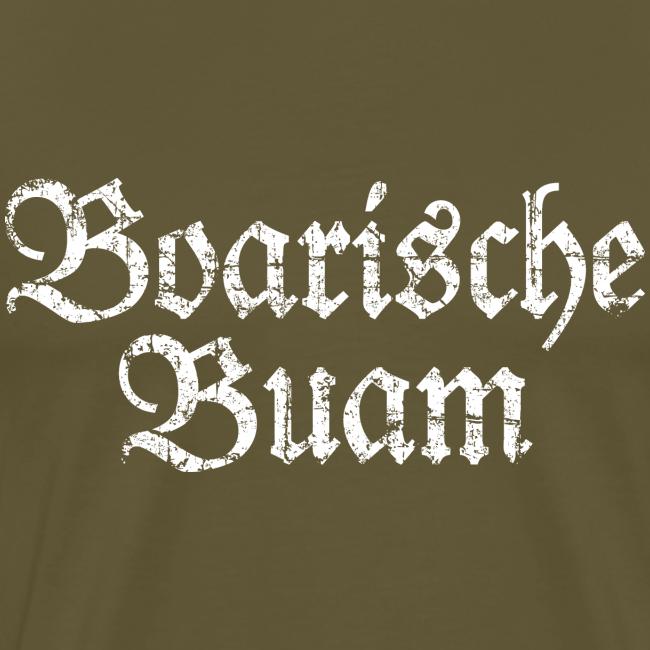 Boarische Buam (Vintage/Weiß) S-5XL T-Shirt