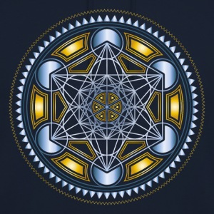 METATRONS CUBE, FLOWER OF LIFE, SPIRITUALITY Sweat-shirts - Sweat-shirt à capuche unisexe