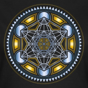 METATRONS CUBE, FLOWER OF LIFE, SPIRITUALITY T-Shirts - Women's T-Shirt