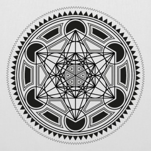 METATRONS CUBE, SACRED GEOMETRY, SPIRITUALITY Bags & Backpacks - Tote Bag