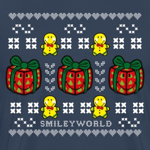 SmileyWorld Time to unwrap Presents - Men's Premium T-Shirt
