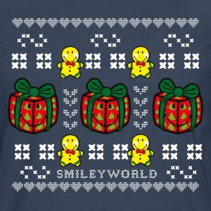 SmileyWorld Time to unwrap Presents - Camiseta de manga larga premium hombre