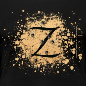 Zorro The Hero's Trademark Letter Z Initial - Premium T-skjorte for kvinner
