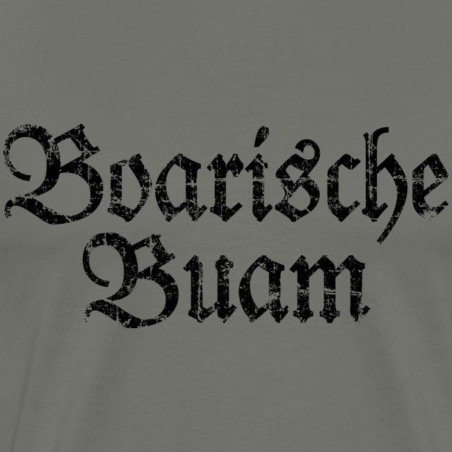 Boarische Buam (Vintage/Schwarz) S-5XL T-Shirt
