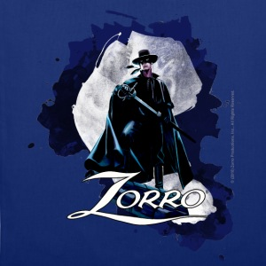 Zorro Hero By Night Standing On A Rooftop - Tote Bag
