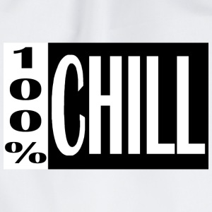 CHILL-BAG-white - Turnbeutel