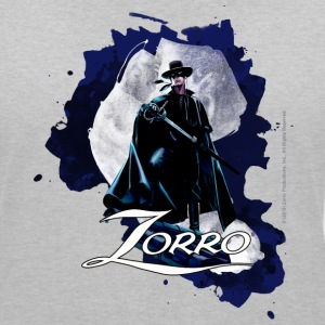 Zorro Hero By Night Standing On A Rooftop - Women's V-Neck T-Shirt