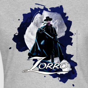 Zorro Hero By Night Standing On A Rooftop - Koszulka damska