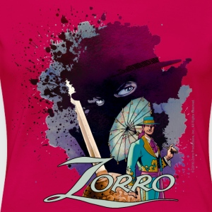 Zorro Don Diego Avenger And Nobleman Painting - Women's Premium T-Shirt