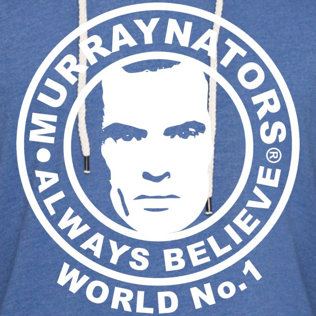 Number 1. Believe. Light Blue Unisex Thin Hoodie.